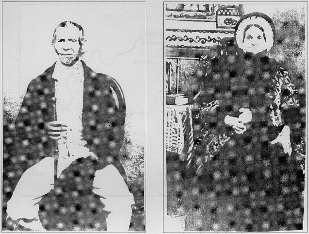 John and Ann Adsett